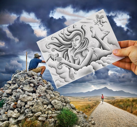 Pencil vs Camera by Ben Heine 02