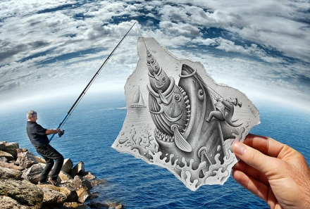 Pencil vs Camera by Ben Heine 03