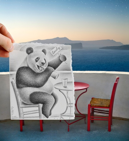 Pencil vs Camera by Ben Heine 04