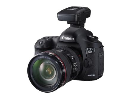 Canon 5D Mark III with GP-E2