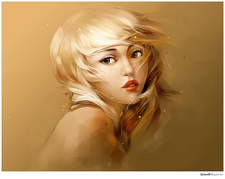 Digital Portraits by Nguyen Thanh Nhan
