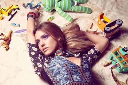 511 Jessica Alba for InStyle magazine