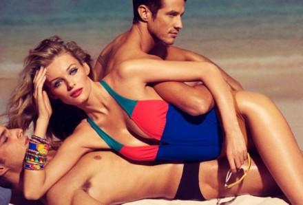 edita tom munro shoot1 650x441 Allure retro beach photo shoot