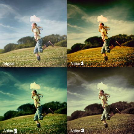 20+ Useful and Free Photoshop Actions For Photographers