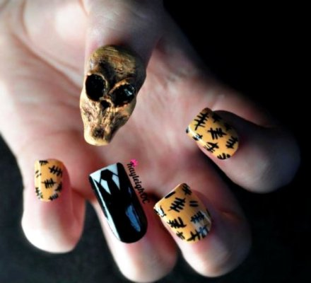 nail 03 20 Trendy Examples of Nail Art and Design