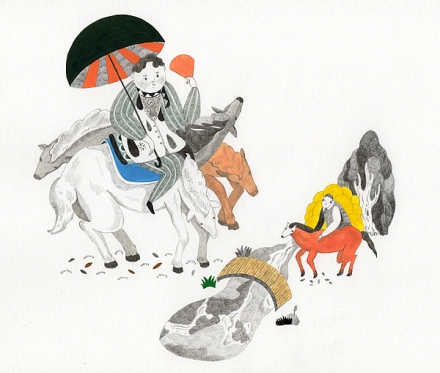 Illustration / Andersen by Inca Pan