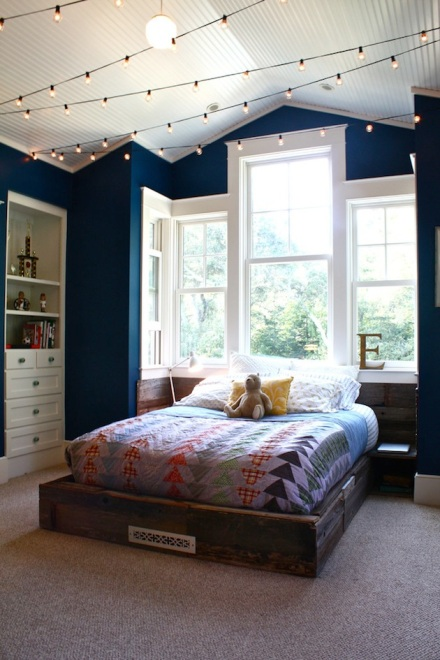 Add String Lights For Budget Friendly Lighting Design