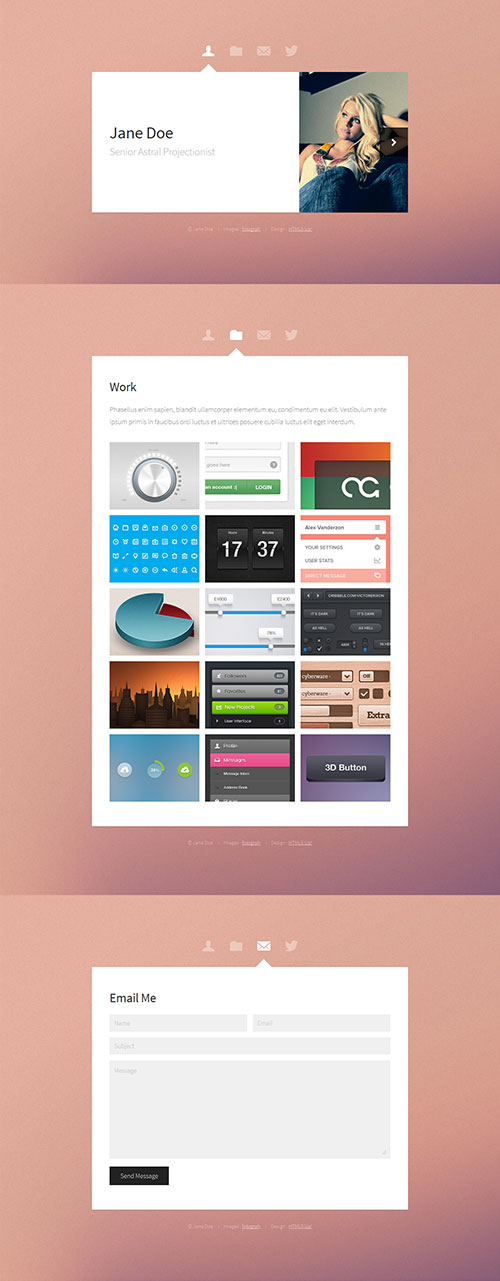 Astral - Responsive HTML5 Template
